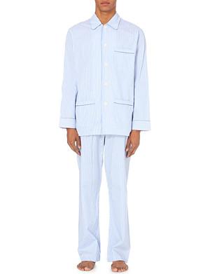 DEREK ROSE Bengal Stripe pyjama set