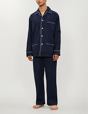 DEREK ROSE Cotton pyjama set