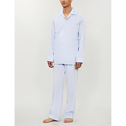 DEREK ROSE Pyjama set (Blue