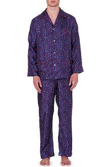 DEREK ROSE Paisley pyjamas