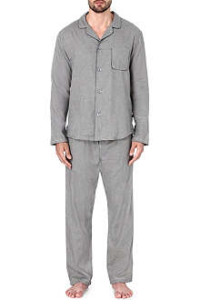 DEREK ROSE Ezra houndstooth pyjama set