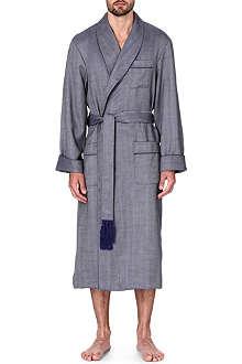 DEREK ROSE Lincoln wool dressing gown