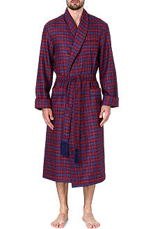 DEREK ROSE York wool dressing gown