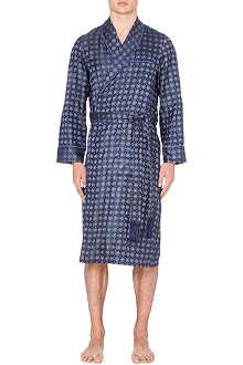 DEREK ROSE Verona silk gown