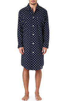 DEREK ROSE Nautical nightshirt