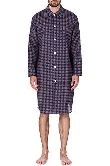 DEREK ROSE Nelson printed cotton nightshirt