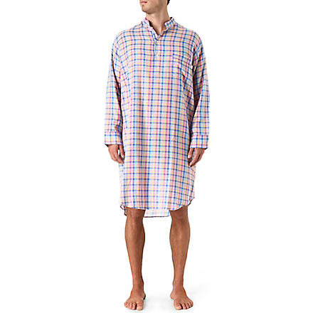 DEREK ROSE Bold check nightshirt (Multi