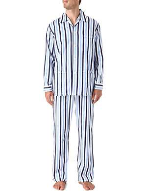 DEREK ROSE Windsor pyjama set
