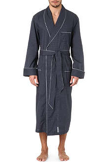 DEREK ROSE Plaza 21 Col B spot dressing gown