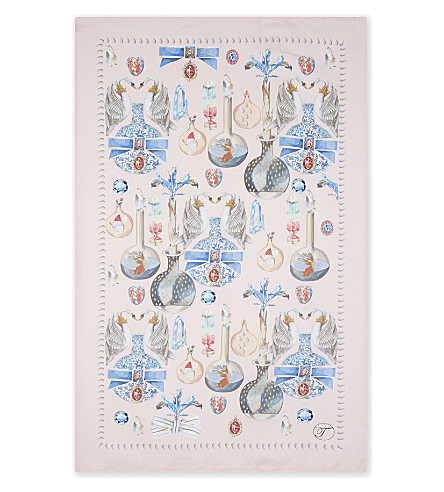 TEMPERLEY Temperley cotton tea towel