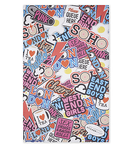 ANYA HINDMARCH Anya Hindmarch cotton tea towel