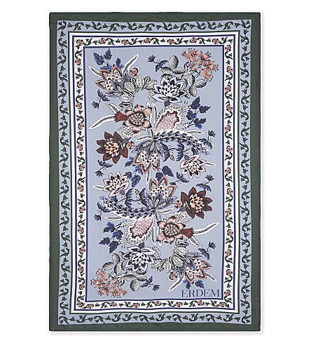 ERDEM Erdem cotton tea towel