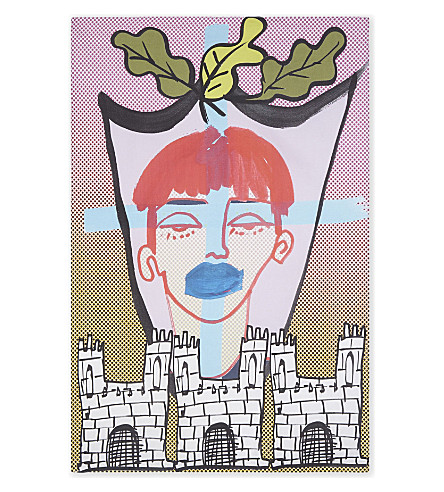 MATTY BOVAN Matty Bovan cotton tea towel