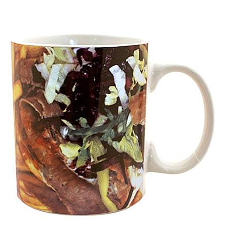 GIFT REPUBLIC Kebab-rpitn stoneware mug