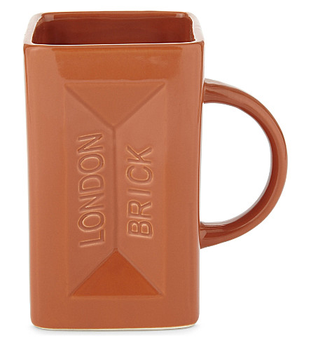 GIFT REPUBLIC Builder's Brick mug
