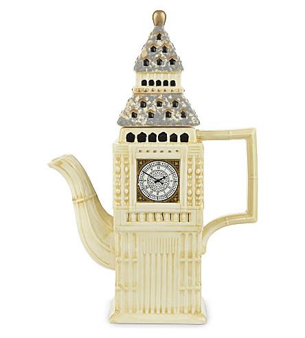 ELGATE 大本钟中汲取灵感陶瓷茶壶