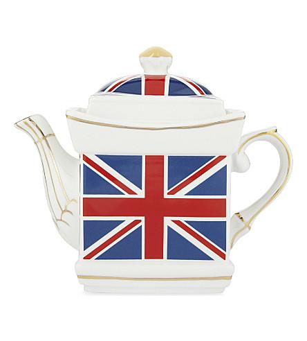 ELGATE Union Jack teapot