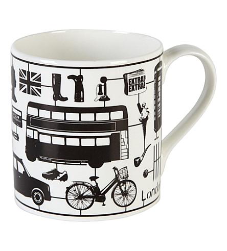 VICTORIA EGGS Ve airfix london mug - black