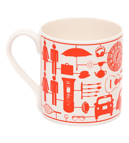VICTORIA EGGS Airfix London mug