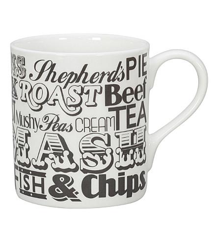 VICTORIA EGGS English Dinner mug