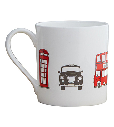 VICTORIA EGGS Simply London Skyline mug