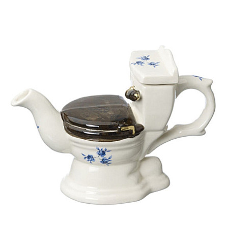 CARTERS At your convenience ceramic one cup teapot