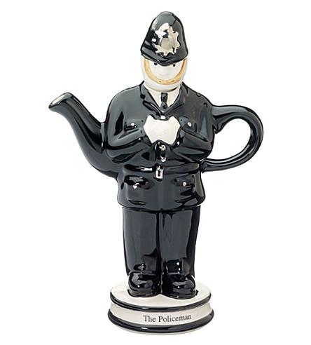 CARTERS Ceramic policeman teapot