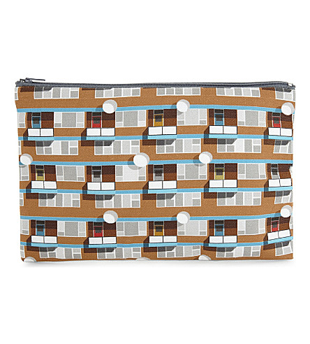 OSCAR FRANCIS Hackney cotton pencil case 14x21x1xcm