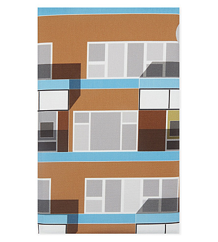 OSCAR FRANCIS Beautiful Estate Hackney cotton tea towel 70x50cm