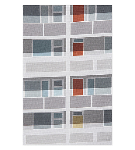 OSCAR FRANCIS Beautiful Estate Southwark cotton tea towel 70x50cm