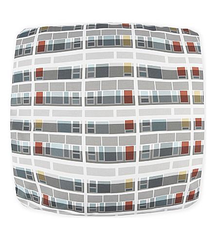 OSCAR FRANCIS Southwark print cushion 40x40cm