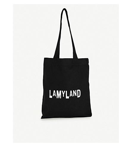 LAMY 土地标志棉混纺手提包