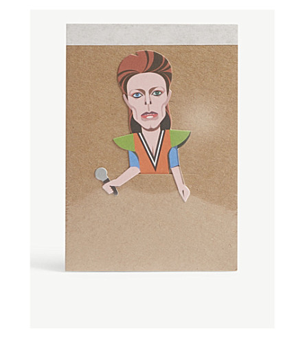 TURNAROUND PUBLISHING David Bowie pocket-sized notebook