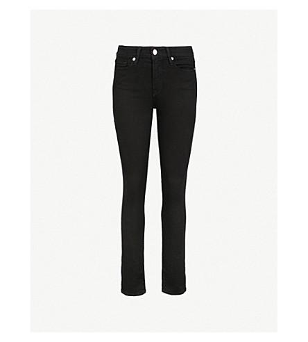 GOOD AMERICAN Good Legs high-rise skinny jeans (Black