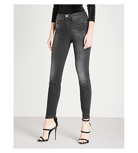 GOOD AMERICAN Good Legs skinny high-rise jeans (Black13