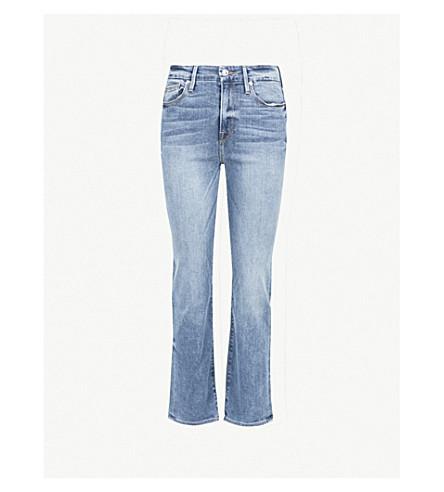 GOOD AMERICAN Good Legs slim-fit skinny stretch-denim jeans (Blue