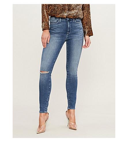 GOOD AMERICAN Good Legs slim-fit skinny jeans (Blue