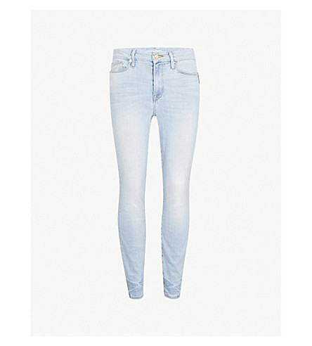 GOOD AMERICAN Good Legs Crop slim-fit skinny jeans (Blue