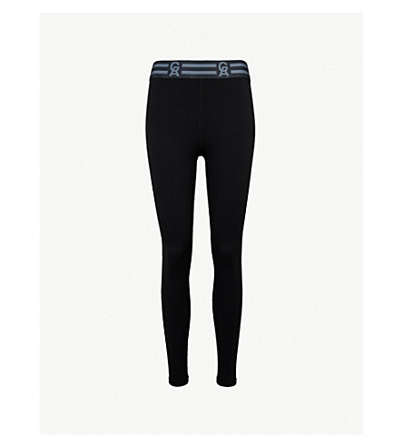 GOOD AMERICAN Icon stretch-jersey leggings (Black001
