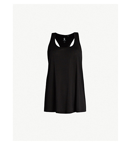 GOOD AMERICAN Making Moves jersey top (Black001