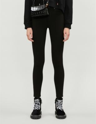 Good Waist Ponte skinny-fit stretch-denim jeans