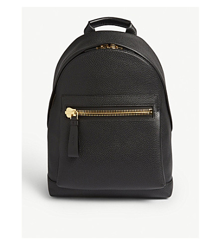 ... grained leather backpack (Black. PreviousNext ea2fe9c45951c