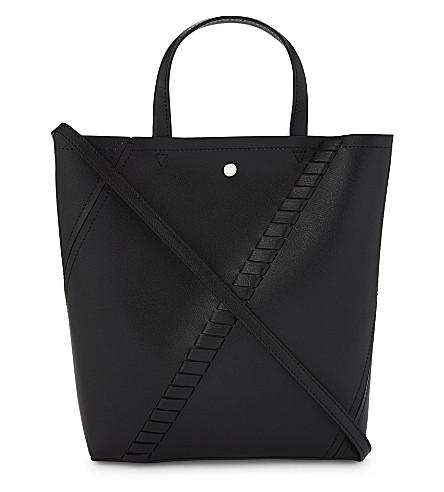 PROENZA SCHOULER Hex leather tote bag (Black