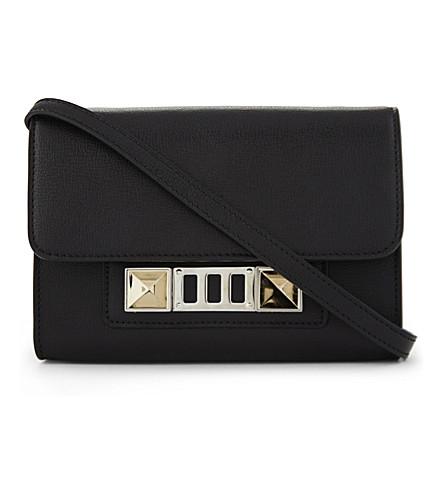 PROENZA SCHOULER PS11 leather cross-body bag (Black
