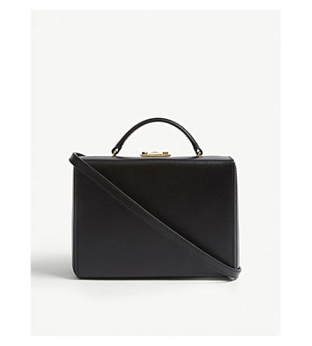 clutch leather Black box box CROSS small MARK MARK small leather clutch Black Grace CROSS Grace UaAwW