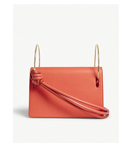ROKSANDA Dia leather shoulder bag (Desert+rose