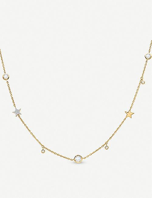MISSOMA Interstellar Star 18ct gold-plated vermeil silver necklace
