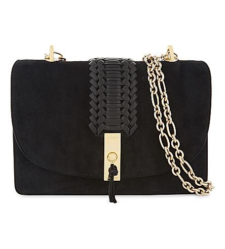 ALTUZARRA Ghianda suede shoulder bag (Black
