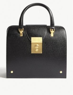 Mrs Thom Jr leather tote(6566943)