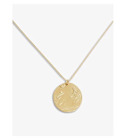 ALIGHIERI Lion necklace